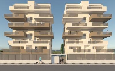 Nueva promoción en la playa de Oliva, Residencial Gregal