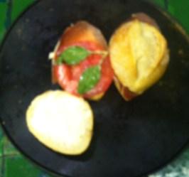 TORTAS DE PANELA CON JAMÓN SERRANO 1 HORNO