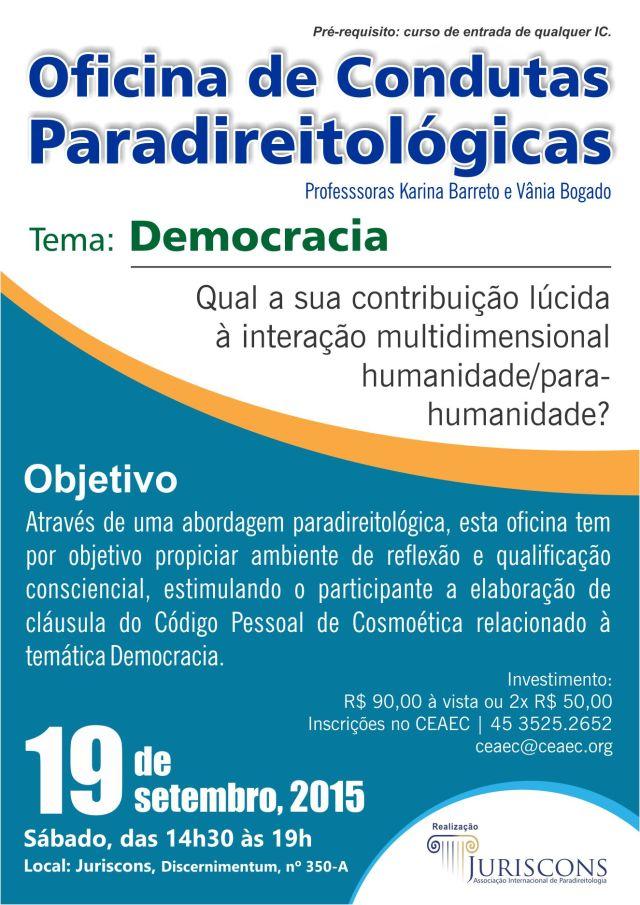 Oficina - Condutas Paradireitológicas