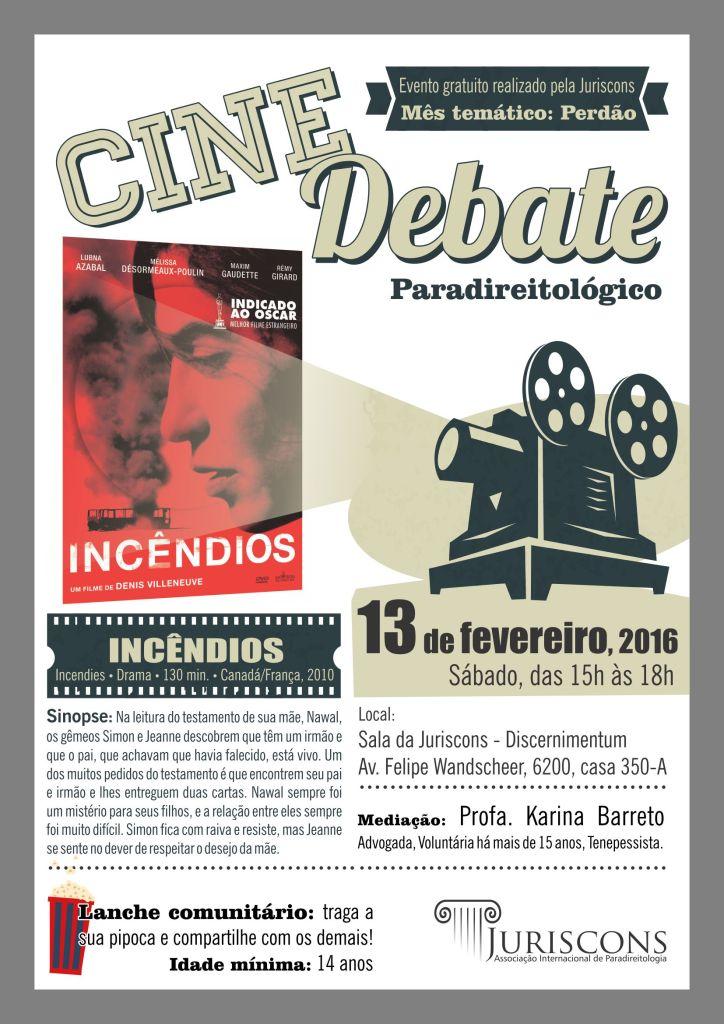 Cine Debate - Paradireito Foz