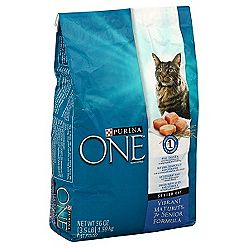 Purina One Vibrant Maturity 7+ cat food recall