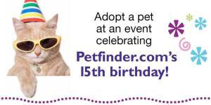 Petfinder.com 15th birthday