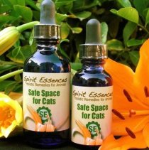 Spirit Essences for cats Safe Space for Cats