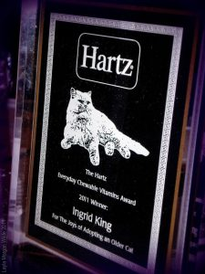 2011 Hartz Chewable Vitamins Award