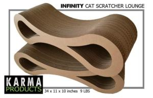 Infinity Cat Scratch Lounge