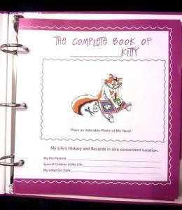 It's a Cat's Life scrapbook