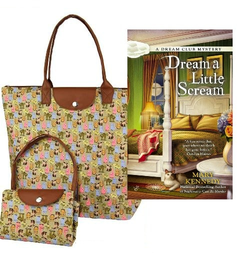 86c4dbe1dc97 Giveaway  Cat About Town Tote Bag and Autographed Copy of Dream a ...