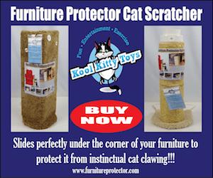 Kool Kitty Furniture Scratcher Ad