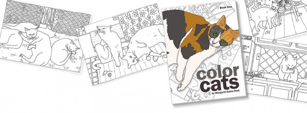 Conscious Cat Sunday: Why Coloring Books Are Good For Your