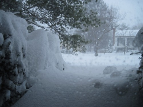 This is what it looked like with 12 more hours of blizzard to go