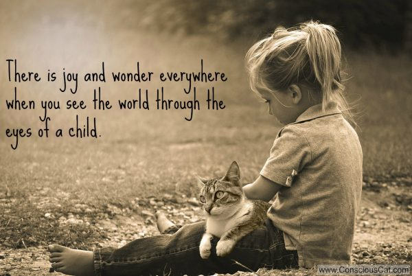 Sunday Quotes: Joy and Wonder - The Conscious Cat