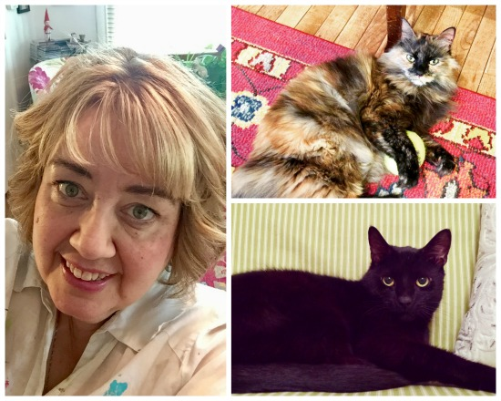 Carolee and cats