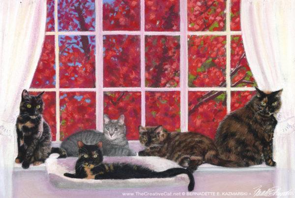 cat-painting-custom-portrait-bernadette-kazmarski