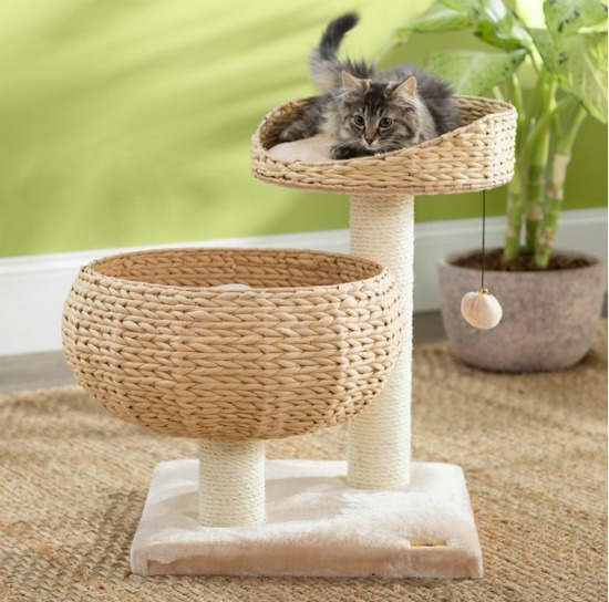 basket-cat-tree