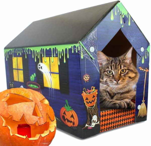 haunted-house-cat-scratcher