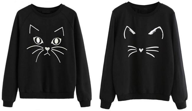 black-cat-sweatshirts