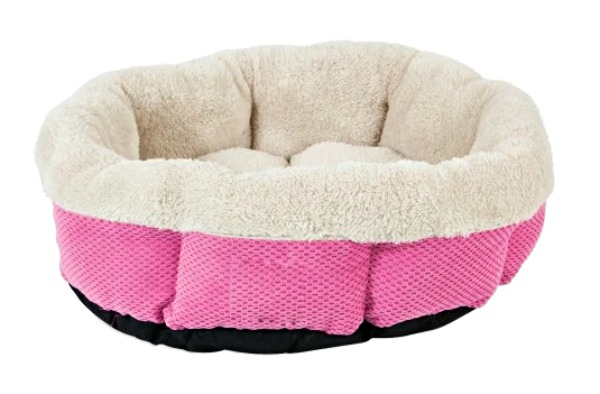 pink-fuchsia-cat-bed