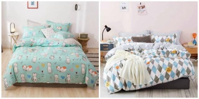 cat-comforter-sheets