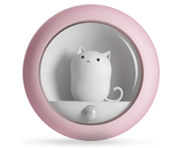 limited-edition-cat-night-light-pink-motion-sensor-cat-light-ships-end-of-may-motion-sensor-cat-night-light