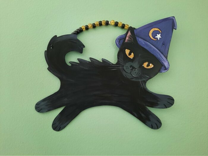 Halloween-witch-cat