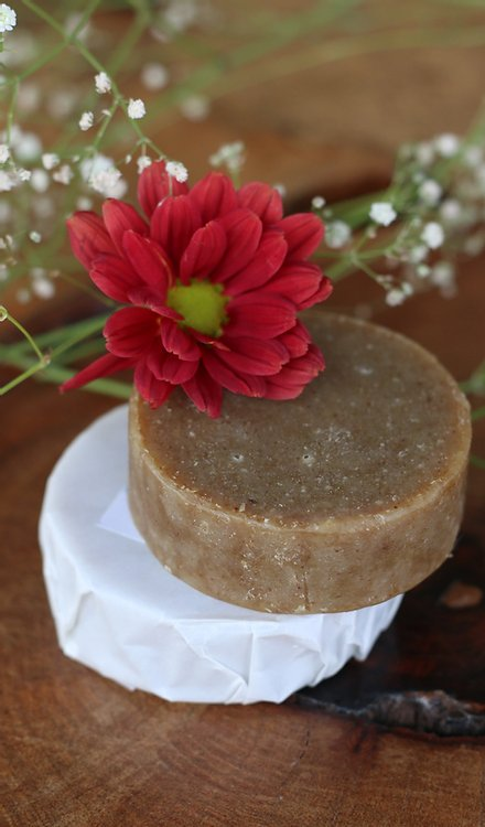 Deep conditioning shampoo bar by Sage and Poppy Co.