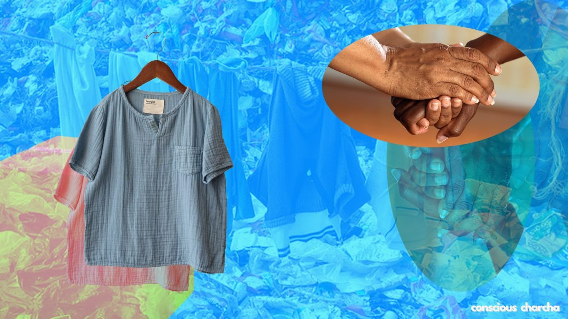 Discard your clothes right and stop them from ending up in landfill