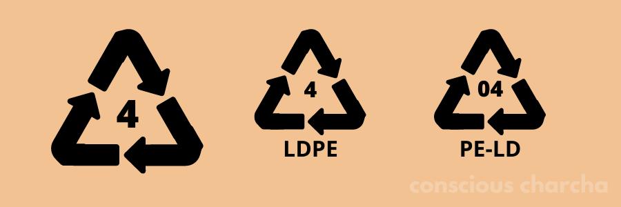 Number 4 LDPE Plastic
