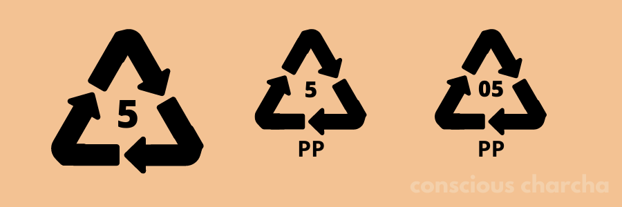 Number 5 PP Plastic type