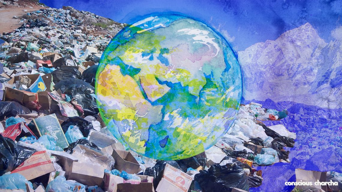 Plastic & planet. Plastic pollution & the negative impact on the planet
