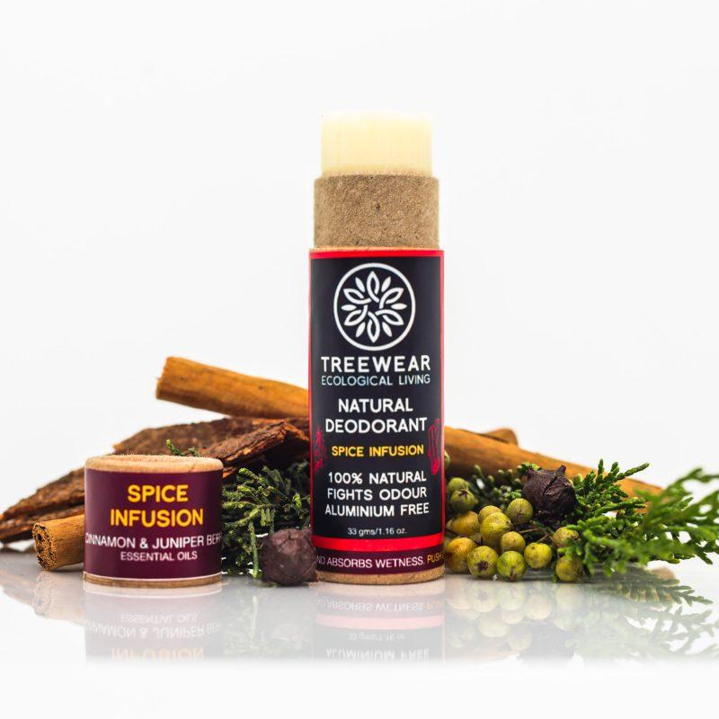 Natural deodorant plastic-free stick by TreeWear