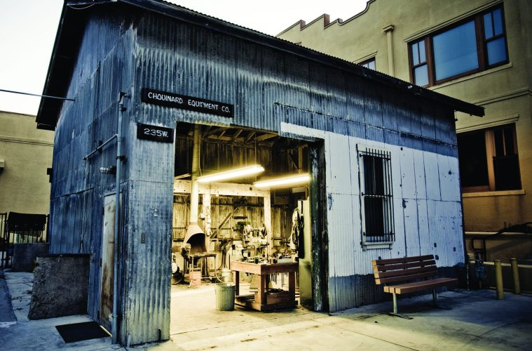 The original tin shed where founder Yvon Chouinard began making equipment still inspires employees at Patagonia's headquarters and gave its name to the company's VC fund, Tin Shed Ventures.