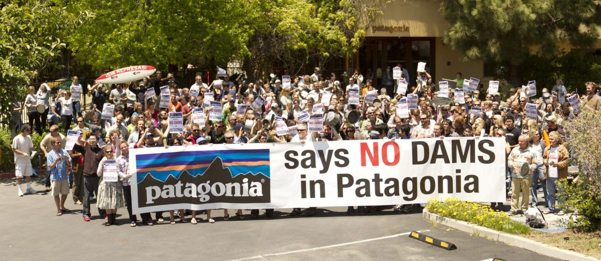 "Patagonia funded the award-winning documentary film ""Damnation"" as part of its environmental advocacy."