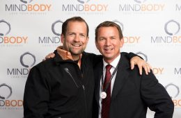 MINDBODY cofounders Rick Stollmeyer (right) and Blake Beltram