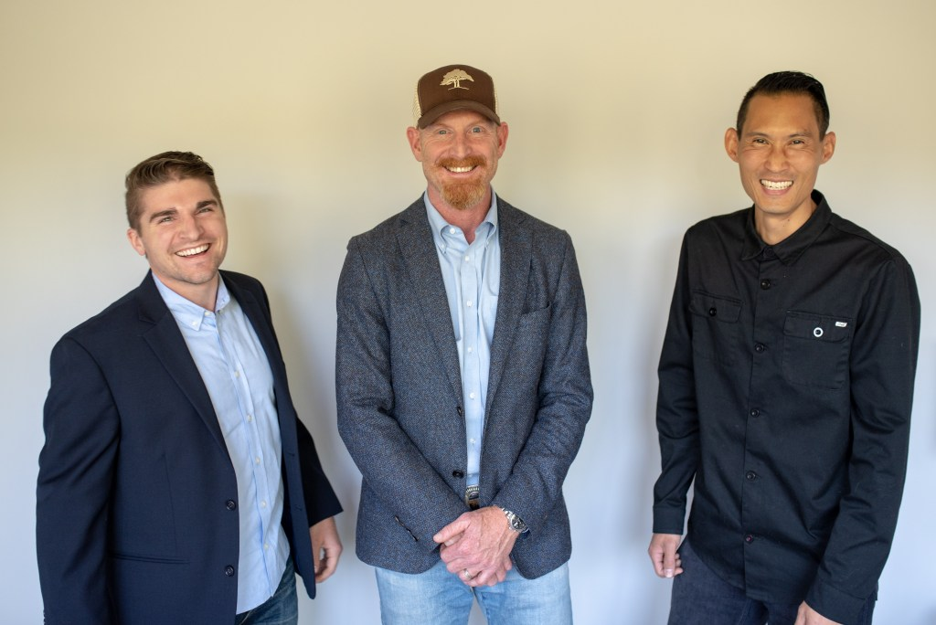 Andy Wolverton, Aaron Farichild, Sam Lai, co-founders of Green Canopy, building homes, relationships, and businesses that help regenerate communities and environments.