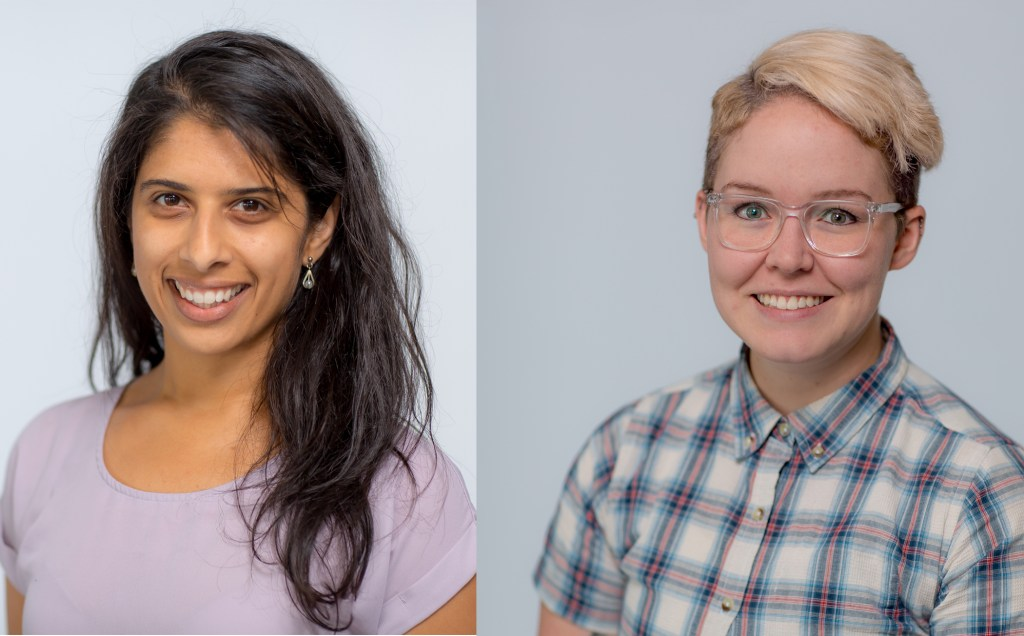 Sona Shah and Teresa Cauvel, fo-founders of Neopenda, a company that engineers medical devices for where they're needed most.