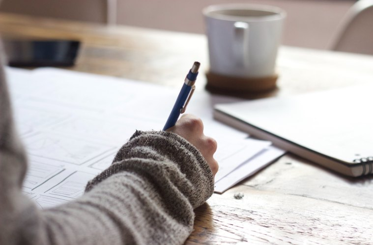 write every morning