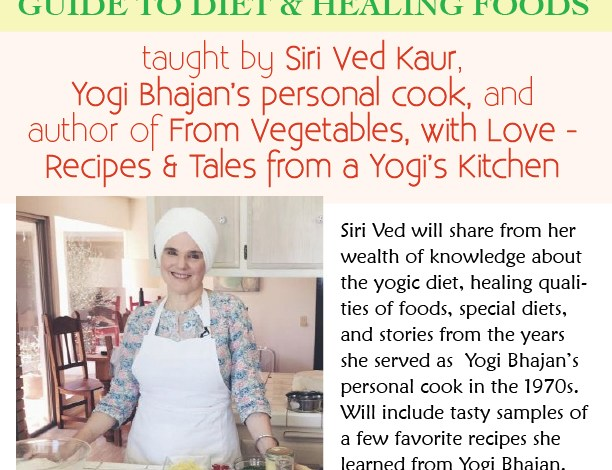 Upcoming Class at Yoga West L.A. – Yogi in the Kitchen!