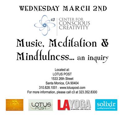c3 Music Meditation Mindfulness