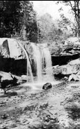 Bear Run in Pensilvania (1934) - the planned site for ''Falling Water'