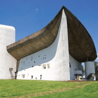 Le Corbusier - 'Notre Dame Du Haut' 1954