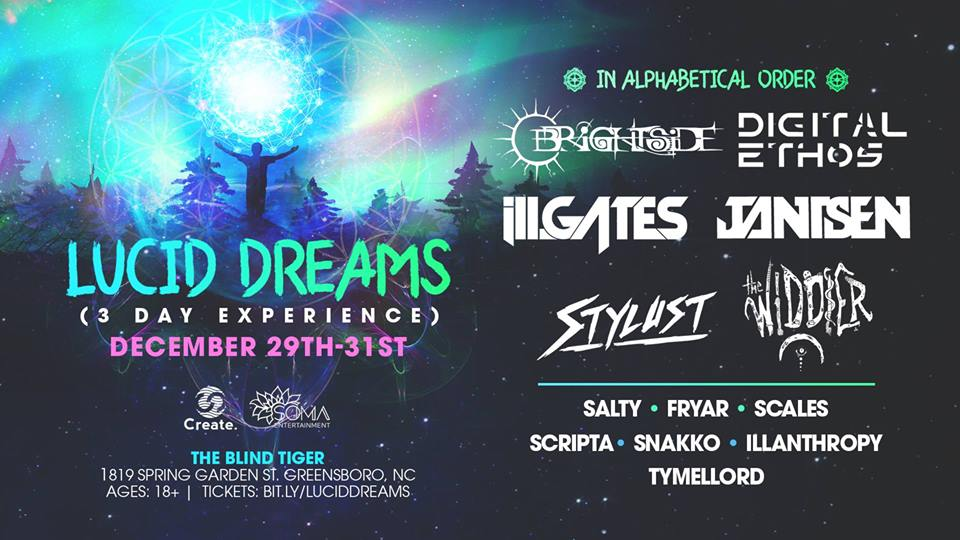 Lucid Dreams is bringing the best in bass to 3-day NYE event