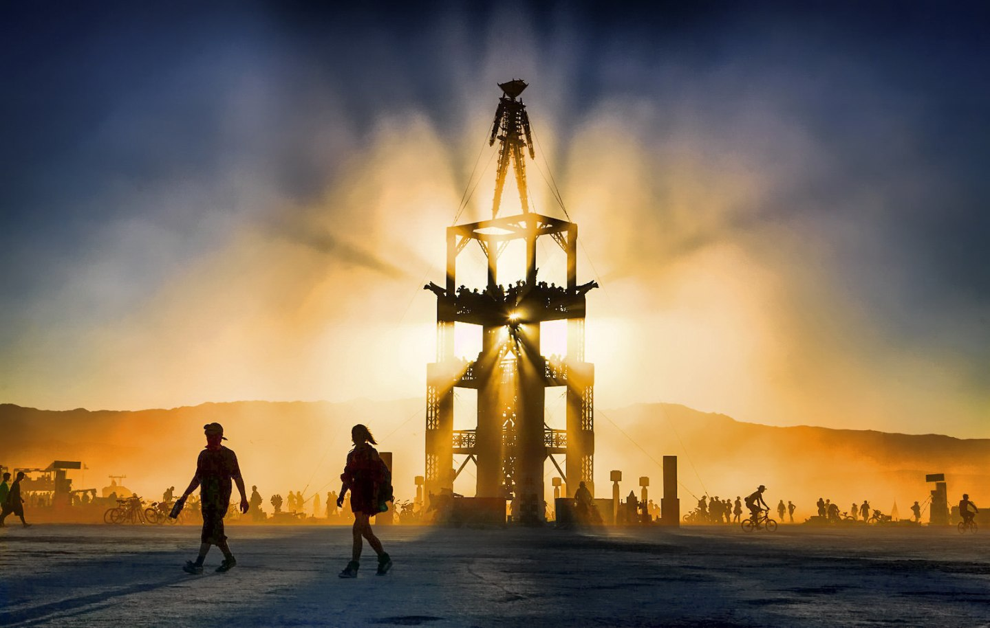 The Man - Burning Man 2014