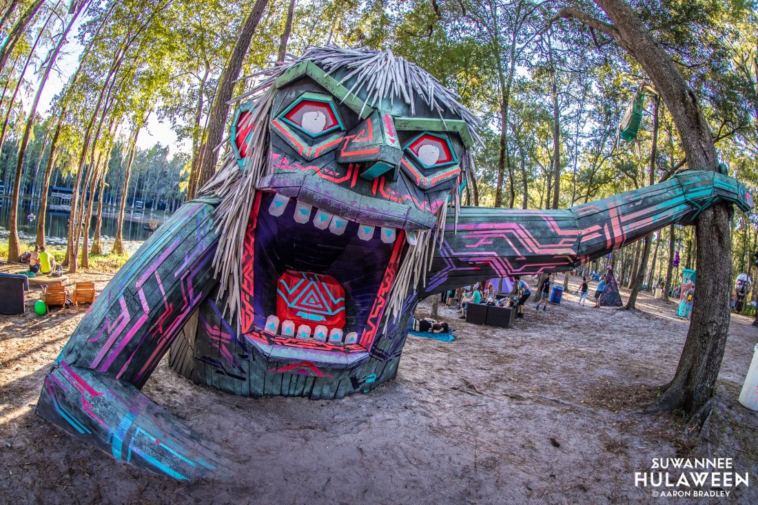 snorra-the-lake-monster-hulaween-aaron-bradley-conscious-electronic