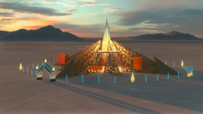 Burning Man 2020 Temple
