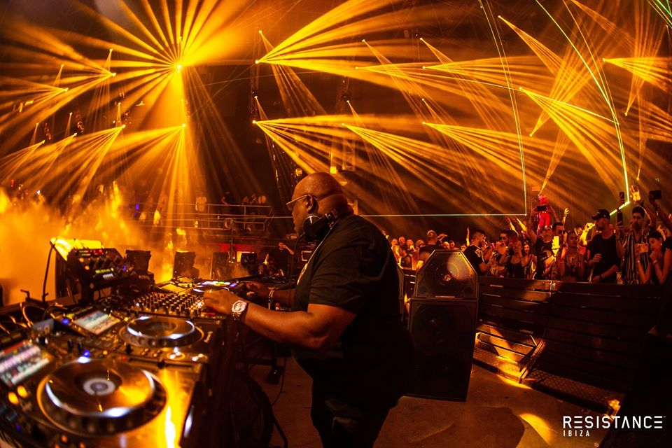 Carl Cox, Resistance at Club Privilege Ibiza