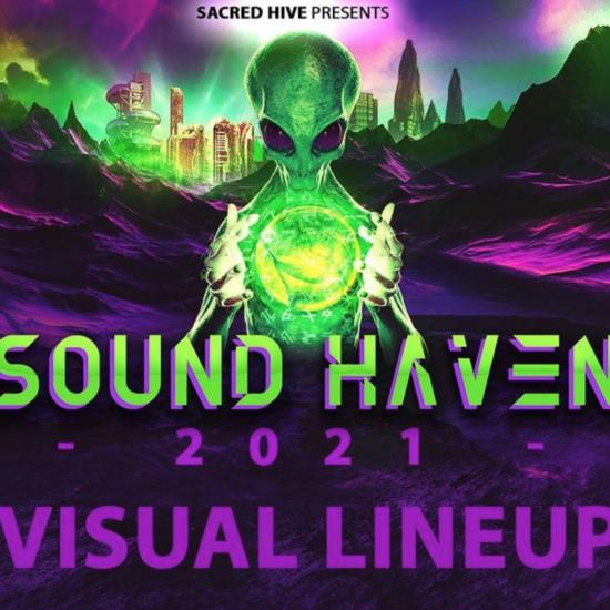 Sound Haven presents 2021 VJ artist lineup