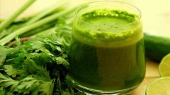 green-juice celery