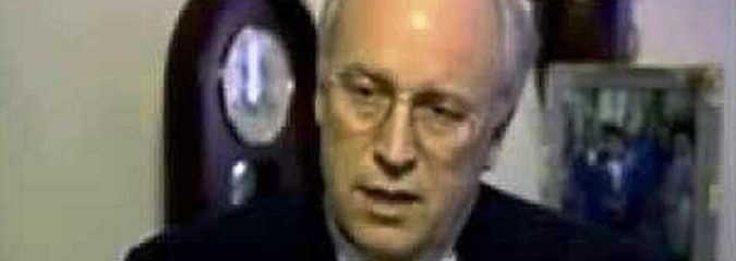 Shocking 1994 Video Of Dick Cheney Predicting Everything About the Current Crisis In Iraq