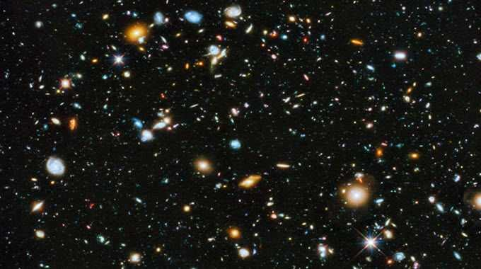 hubble's most colorful view of the universe
