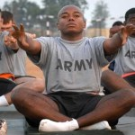 Yoga helps war veterans with post-traumatic stress disorder